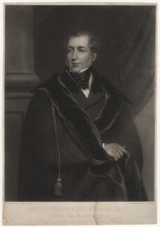 Benjamin Hall, 1st Baron Llanover, by George Zobel, after  Frederick Yeates Hurlstone - NPG D3585