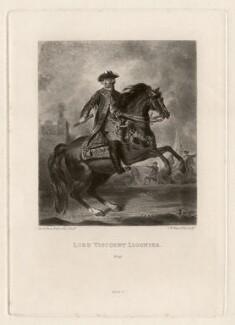 John Ligonier, 1st Earl Ligonier, by Samuel William Reynolds, published by  Henry Graves & Co, after  Sir Joshua Reynolds - NPG D3588