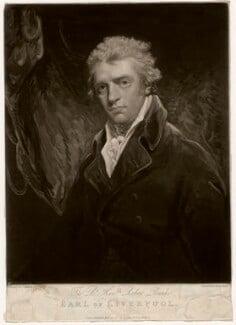 Robert Banks Jenkinson, 2nd Earl of Liverpool, by Henry Meyer, published by  Robert Cribb, after  John Hoppner - NPG D3596