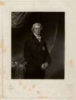 Robert Banks Jenkinson, 2nd Earl of Liverpool, by John Richardson Jackson, published by  Henry Graves & Co, after  Sir Thomas Lawrence - NPG D3597