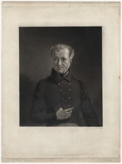 Wadham Locke, by Joseph Epenetus Coombs, after  Sir George Hayter - NPG D3604