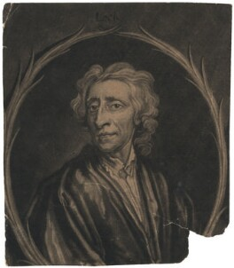 John Locke, by Francis Kyte, after  Sir Godfrey Kneller, Bt - NPG D3606