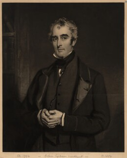 John Gibson Lockhart, by James Faed the Elder, after  Sir Francis Grant - NPG D3607