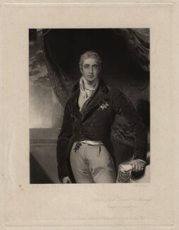 Robert Stewart, 2nd Marquess of Londonderry (Lord Castlereagh), by John Richardson Jackson, after  Sir Thomas Lawrence - NPG D3608