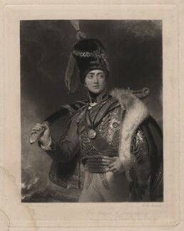 Charles William Vane-Stewart, 3rd Marquess of Londonderry, by William Henry Simmons, published by  Graves & Warmsley, after  Sir Thomas Lawrence - NPG D3609