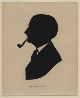 Clement Attlee, by Harry Lawrence Oakley - NPG D361