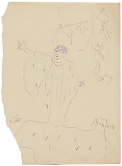 Sarah Bernhardt, by Cecil Beaton - NPG D3634