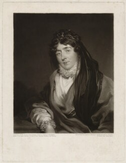 Frances Anne Crewe (née Greville), Lady Crewe, by William Say, after  Sir Thomas Lawrence - NPG D3647