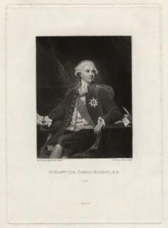 James Harris, 1st Earl of Malmesbury, by Samuel William Reynolds, after  Sir Joshua Reynolds - NPG D3665