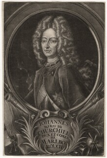 John Churchill, 1st Duke of Marlborough, published by Christoph Weigel - NPG D3669