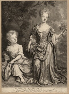 Countess of Sunderland and Duchess of Marlborough, by and published by John Smith, after  Sir Godfrey Kneller, Bt - NPG D3672