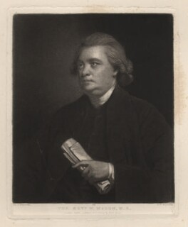 William Mason, by Samuel William Reynolds, published by  Hodgson & Graves, after  Sir Joshua Reynolds - NPG D3682