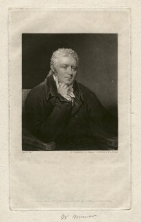 William Fordyce Mavor, by Charles Turner, after  James Saxon - NPG D3691