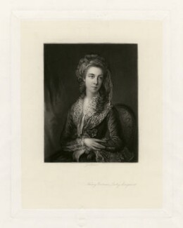 Nancy Parsons, by George Sanders, after  Thomas Gainsborough - NPG D3694