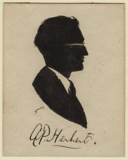 Sir Alan Patrick Herbert, by Harry Lawrence Oakley - NPG D371