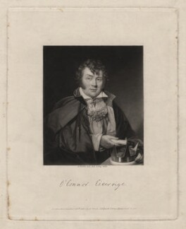 Roger O'Connor, by and published by Abraham Wivell - NPG D3715
