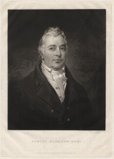 Samuel Oldknow, by Samuel William Reynolds, after  Joseph Allen - NPG D3717