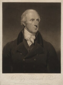 Sir Digby Mackworth, Bt, by William Say, after  Henry William Pickersgill - NPG D3722