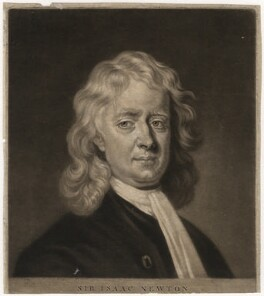 Sir Isaac Newton, by James Macardell, after  Enoch Seeman - NPG D3725