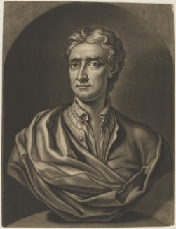 Sir Isaac Newton, by John Faber Jr, after  John Michael Rysbrack - NPG D3726