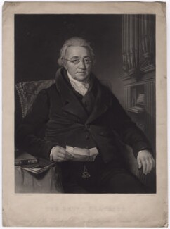 Christian Ignatius Latrobe, by Samuel Bellin, after  Thomas Barber - NPG D3745