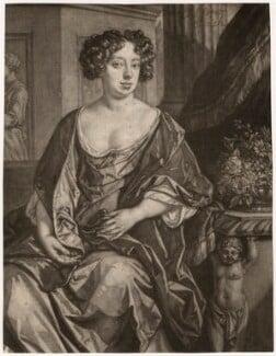 Essex Finch (née Rich), Countess of Nottingham, after Jan van der Vaart, published by  Richard Tompson, after  Sir Peter Lely, 1678-1679 - NPG D3746 - © National Portrait Gallery, London