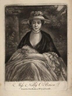 Nelly O'Brien, by Samuel William Reynolds, after  Sir Joshua Reynolds - NPG D3750