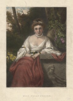 Nelly O'Brien, by Samuel William Reynolds, after  Sir Joshua Reynolds - NPG D3756