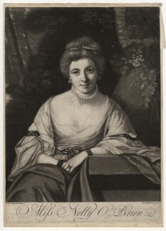 Nelly O'Brien, by Charles Spooner, after  Sir Joshua Reynolds, (circa 1762-1764) - NPG D3757 - © National Portrait Gallery, London
