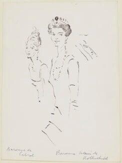 Marguerite ('Daisy') (née d'Harcourt), Baronne de Cabrol; Mary Germaine Nathalie (née Chauvin du Treuil), Baronne de Rothschild, by Cecil Beaton - NPG D3759