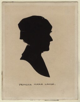 Princess Marie Louise of Schleswig-Holstein, by Harry Lawrence Oakley - NPG D376