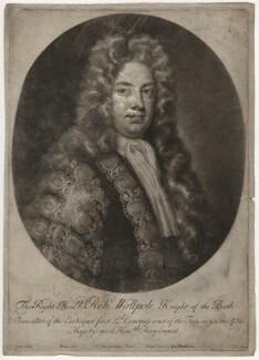 Robert Walpole, 1st Earl of Orford, by John Simon, after  Charles Jervas, circa 1725 - NPG D3761 - © National Portrait Gallery, London
