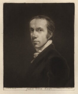John Opie, by Samuel William Reynolds, after  John Opie - NPG D3765