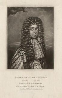 James Butler, 1st Duke of Ormonde, by Robert Dunkarton, after  David Loggan, published 1815 - NPG D3775 - © National Portrait Gallery, London
