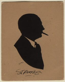 Sidney Strube, by Harry Lawrence Oakley - NPG D378