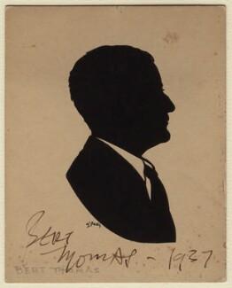 Bert Thomas, by Harry Lawrence Oakley - NPG D379