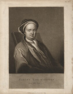 Edward Harley, 2nd Earl of Oxford, after Michael Dahl - NPG D3794
