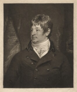 Joseph Outram, by John Raphael Smith, after  Samuel Drummond - NPG D3796
