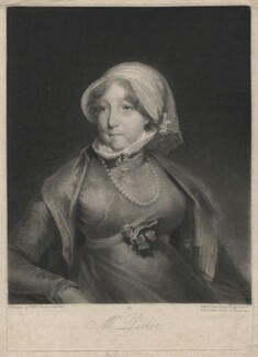 Beatrix Parker (née Lister), by William Say, after  William Owen - NPG D3804