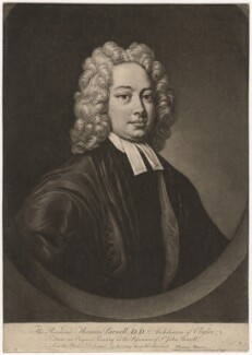 Thomas Parnell, after Unknown artist - NPG D3819