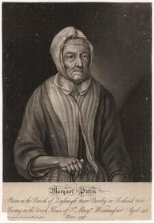 Margaret Patten (née Gibson), by John Cooper - NPG D3833