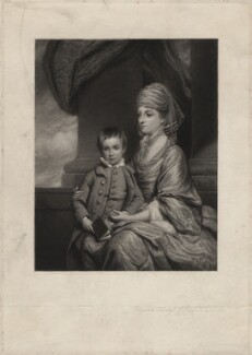 Elizabeth Herbert (née Spencer), Countess of Pembroke, by Frederick Bromley, after  Sir Joshua Reynolds - NPG D3845