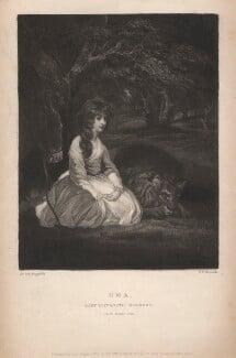 Elizabeth Herbert (née Beauclerk), Countess of Pembroke, by Samuel William Reynolds, after  Sir Joshua Reynolds - NPG D3847