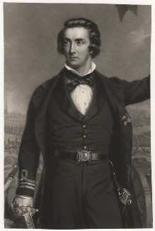 Sir William Peel, by James John Chant, after  John Lucas, published 1860 - NPG D3853 - © National Portrait Gallery, London