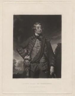 Henry Herbert, 10th Earl of Pembroke, by Samuel William Reynolds, after  Sir Joshua Reynolds - NPG D3860