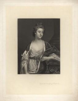 Elizabeth Herbert (née Spencer), Countess of Pembroke, by Arthur N. Sanders, after  Sir Joshua Reynolds - NPG D3861