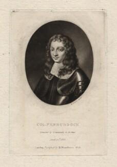 John Penruddock, by Richard Earlom, after  Unknown artist - NPG D3868