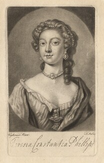 Teresia Constantia Phillips, by John Faber Jr, after  Joseph Highmore - NPG D3880