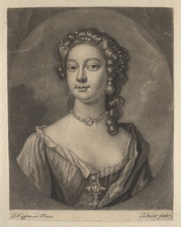 Teresia Constantia Phillips, by John Faber Jr, after  Joseph Highmore - NPG D3881