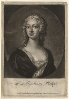 Teresia Constantia Phillips, sold by Robert Sayer, after  Joseph Highmore - NPG D3883